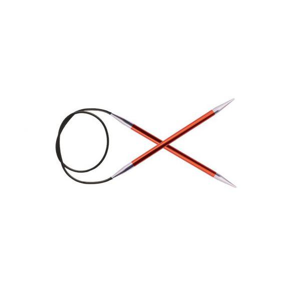 Knitpro Zing Rondbreinaald 60 cm kabel maat 2.50