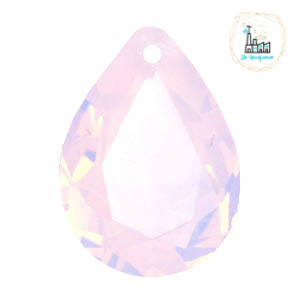 Glashanger 13x18mm Rose water opal