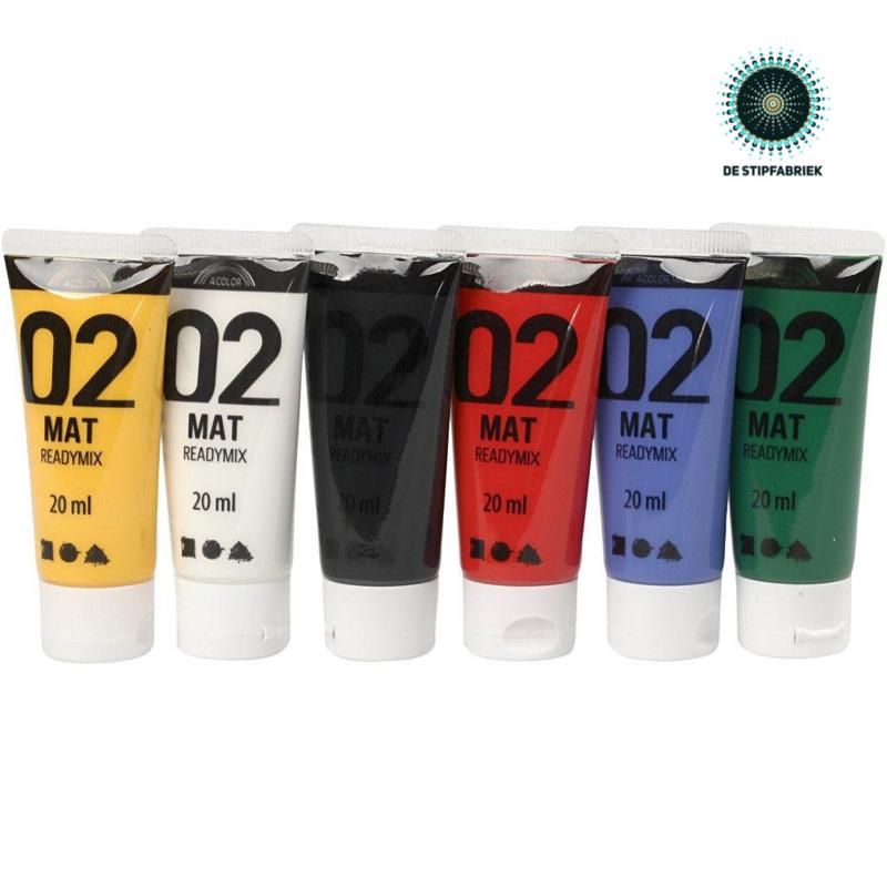 A-Color acrylverf MATT 01