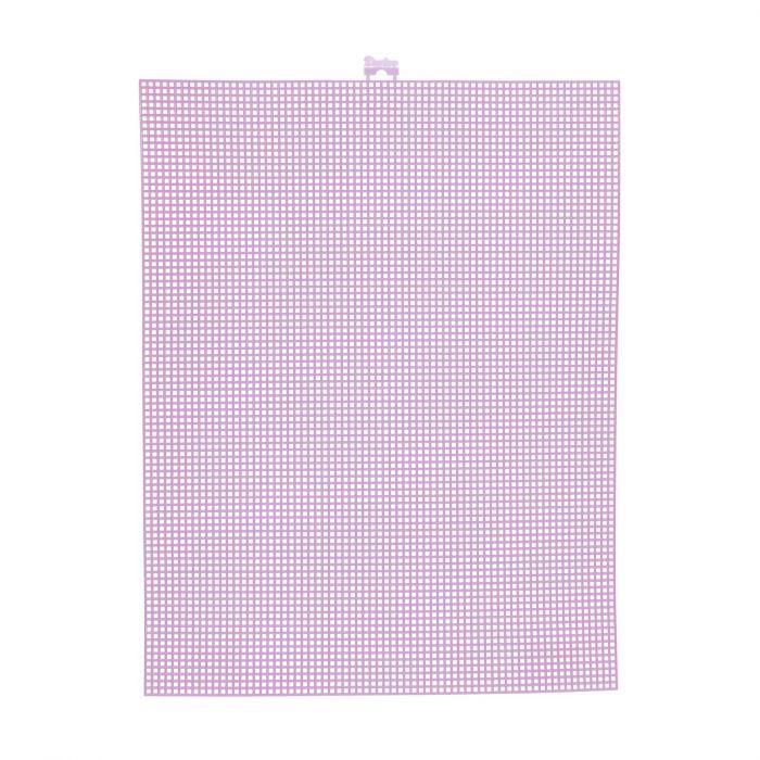 Darice • Plastic Stramien 26x34cm Neon Roze Mesh:7