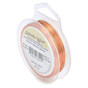 28 Gauge Artistic Wire Natural copper