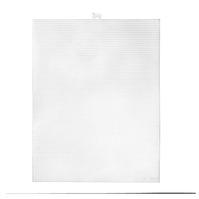 Darice • Plastic Stramien 26x34cm Wit Mesh:7