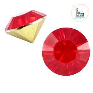 BQ puntsteen SS39 Rose red opal