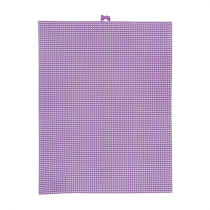 Darice • Plastic Stramien 26x34cm Paars Mesh:7