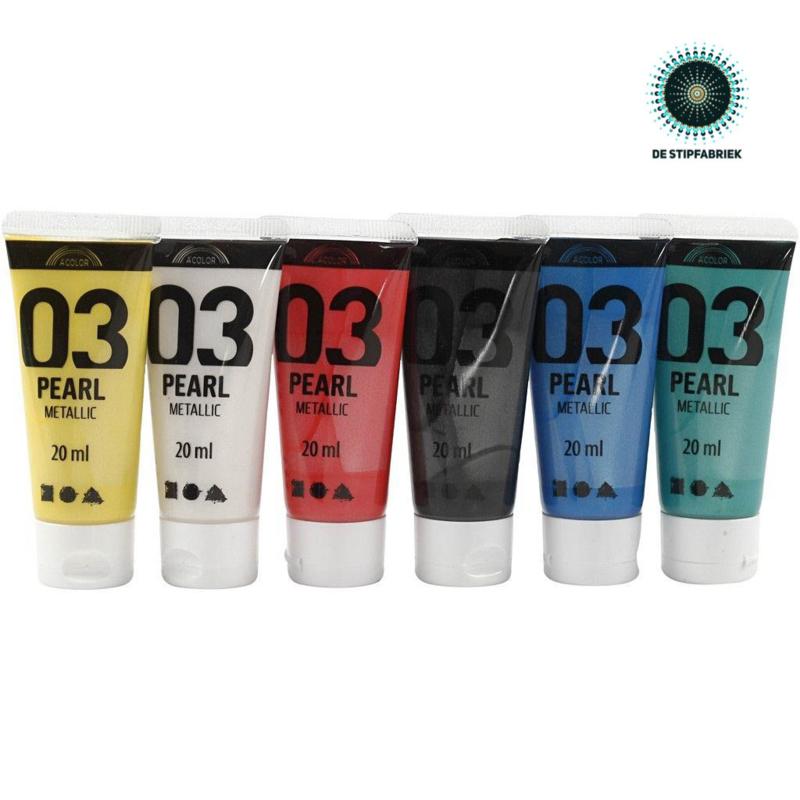 A-Color acrylverf METALLIC 01