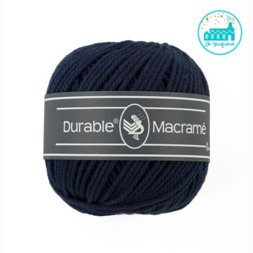 Durable Macramé 321 Navy