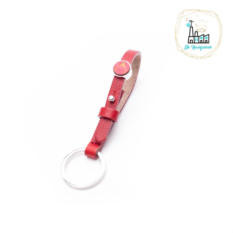 The Dutch Bracelet Factory Sleutelhanger 7853 Red