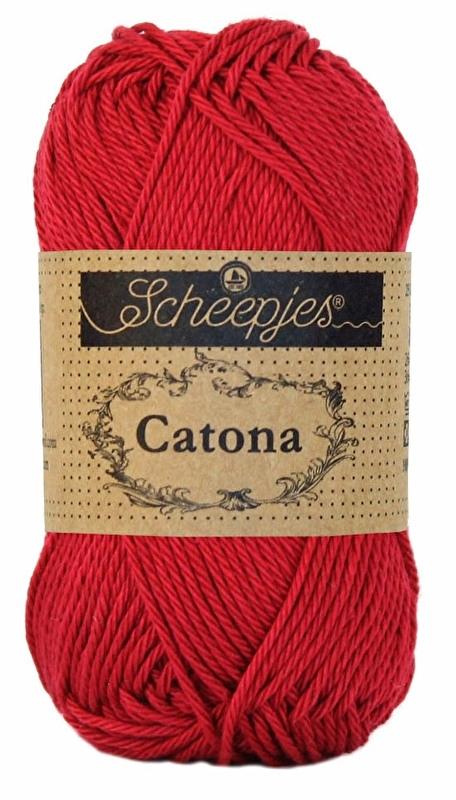 Scheepjes Catona Scarlet 192