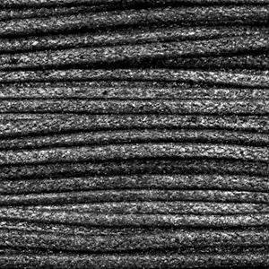 Waxkoord metallic 2.0mm Anthracite black