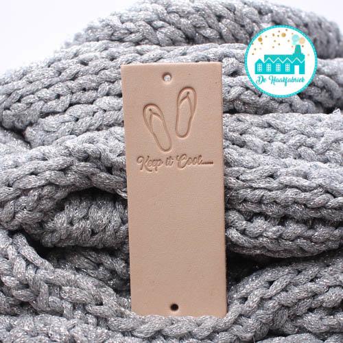 Big Labels 8 cm x 3 cm Slippers Keep it Cool....