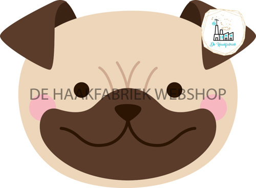 Punch Needle Patroon HOND 7