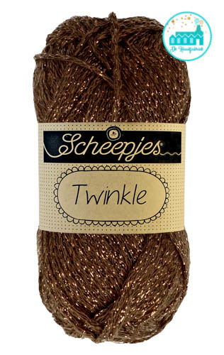 Scheepjes Twinkle 939 DARK BROWN