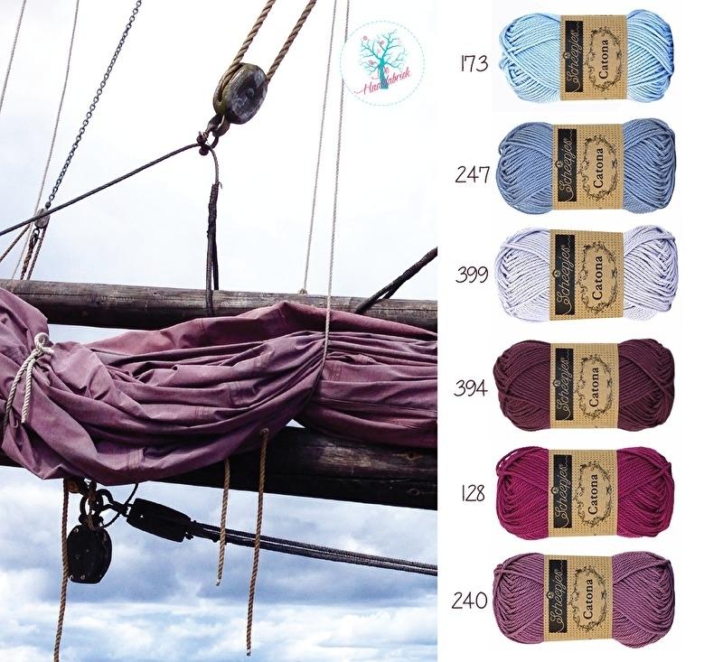 Color Combination Catona Cotton 07
