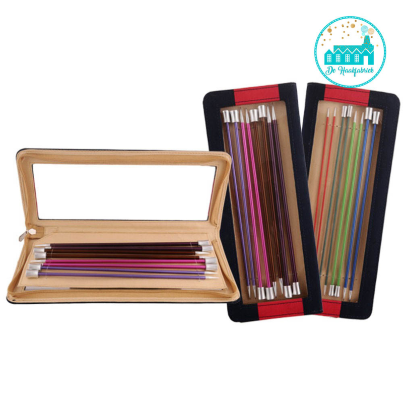 KnitPro Zing Knitting Needles Set 40 cm  with knob