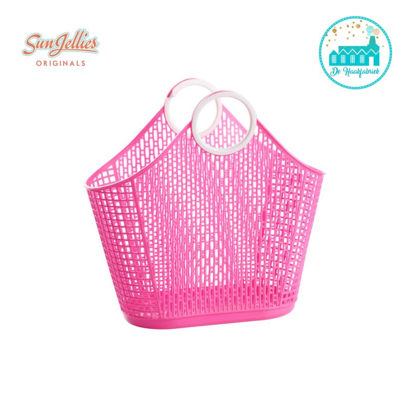 Sun Jellies Fiesta Shopper Hot Pink Small