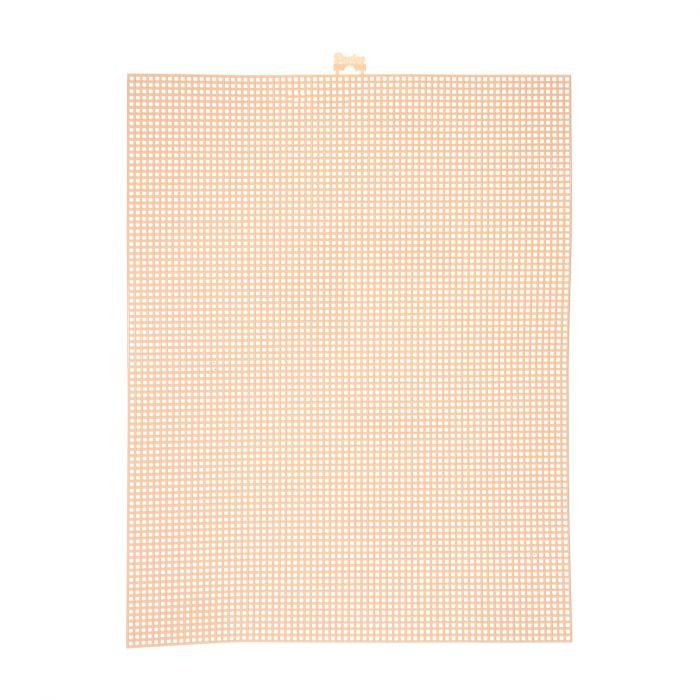 Darice • Plastic Stramien 26x34cm Beige Mesh:7