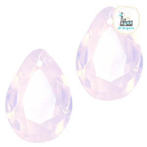 Glashanger 10x14mm Rose water opal