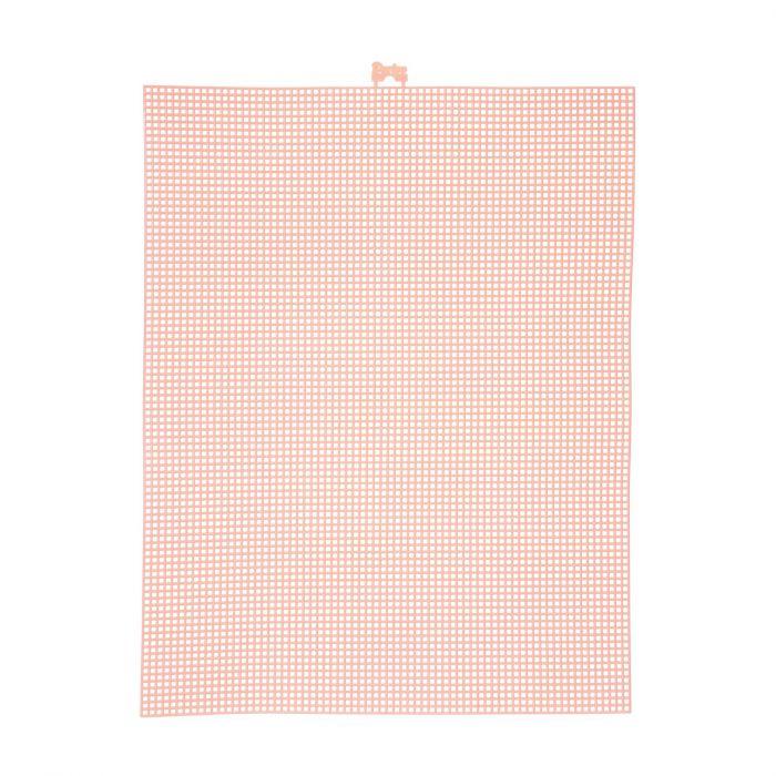 Darice • Plastic Stramien 26x34cm Perzik Mesh:7
