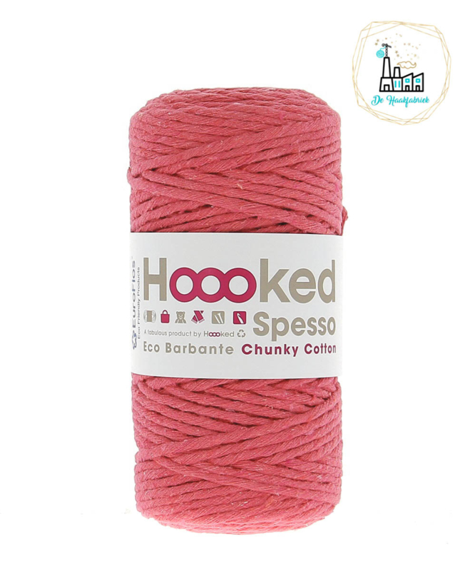 Hoooked Spesso Chunky Cotton Coral