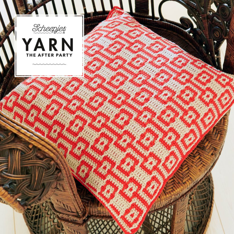 YARN The After Party 46 - Electric Dream Cushion