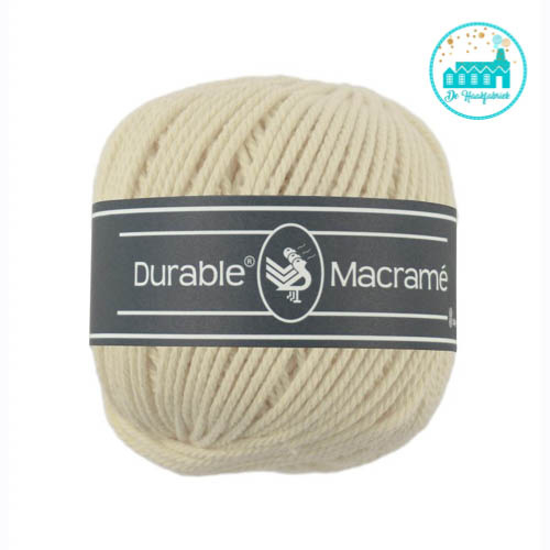 Durable Macramé 2172 Cream