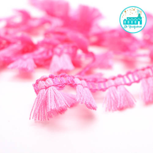 Pink Strip with Brushes 1,5 cm per meter