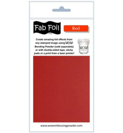 Wow! Fabulous Foil Red