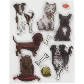 Honden- Clearstamp A5