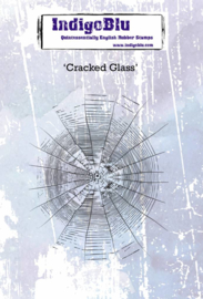 Cracked Glass - Clingstamp A6