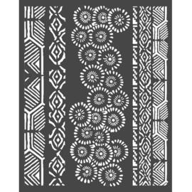 Amazonia Tribals - Thick Stencil (0,5 mm)