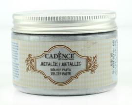 Zilver - Metallic Reliëf Pasta