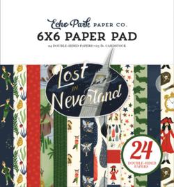 "Lost in Neverland - 6x6"""