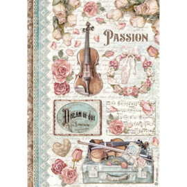 Passion Music - Rijstpapier A4