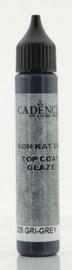 Top Coat Glaze - voor Beton effect Grijs