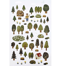 Forest  - Mini Stickers