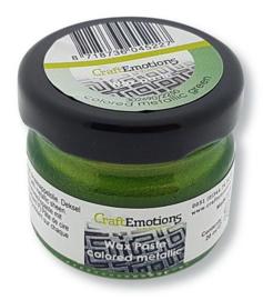 Wax Paste Metallic Colored - Groen