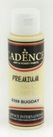 Tarwe Geel - Premium semi matte acrylverf