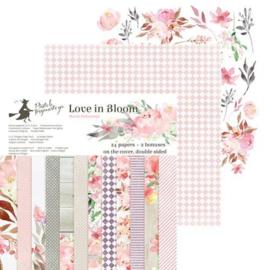 "Love in Bloom - 6x6"""