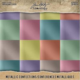 "Kraft-Stock Metallic Confections - 8x8"""