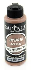 Lichtbruin - Hybride Acrylverf
