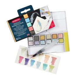 Metallic Paint Pan Set