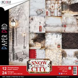"Snow & the City - 12x12"""