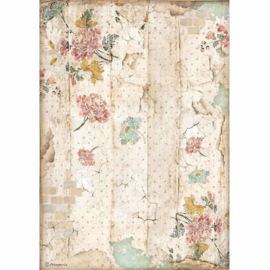 Alice Wall Texture - Rijstpapier A4