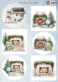 Christmas at Home - Decoupage A4