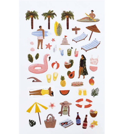 Summer - Mini Stickers