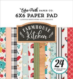 """Farmhouse Kitchen - 6x6"""""""