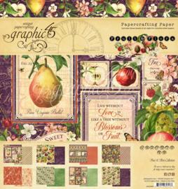 "Fruit & Flora - 8x8"""