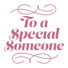 Special Someone Mini Clearstamp