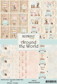 Around the World Collection - A4