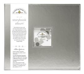 Design Storybook Album - Silver